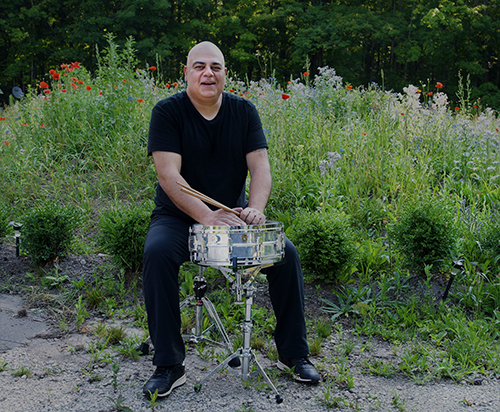 drummer in nature